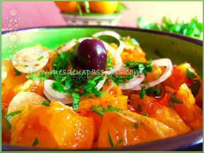 salade d'orange aux oignons 2