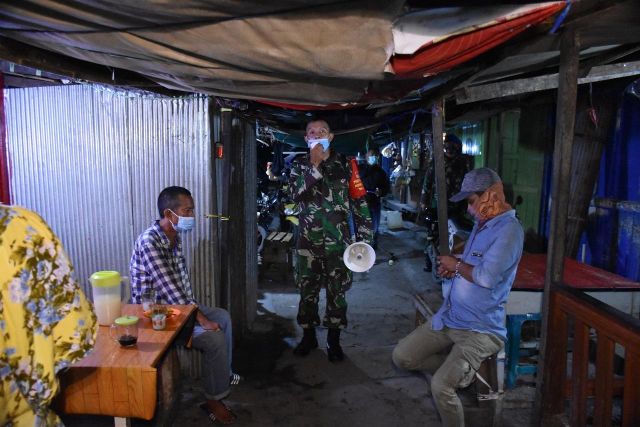 Korem 09/ASN Kerahkan Pasukan Guna Operasi Disiplin Protokol Kesehatan