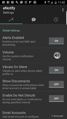 eNotify Lite Alerts - screenshot