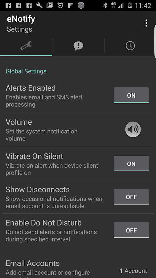eNotify Lite Alerts- screenshot