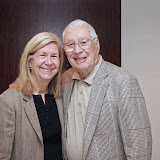 Bob Feller & JoAnne Zapata at Days Inn Horsham on October 18, 2009