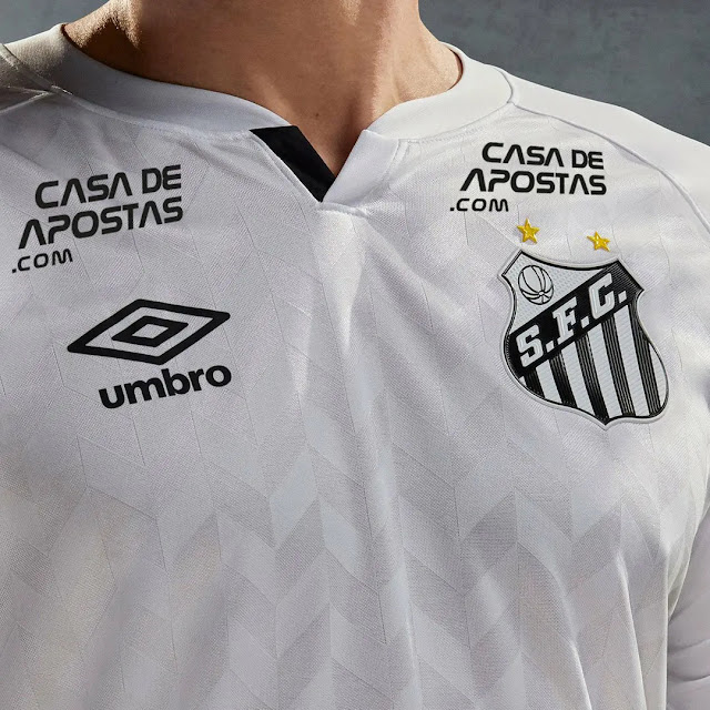 Jersey Away Santos FC musim 2020/2021
