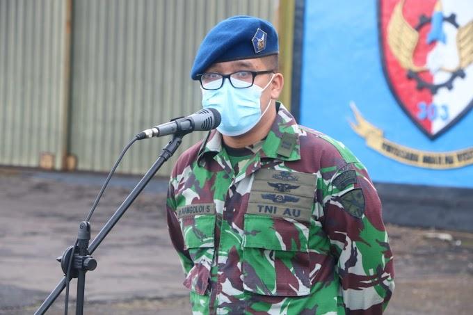 Danwingdiktek:  Sosialisasi Kesehatan Covid-19, Diharapkan Personel Wingdiktek Dapat Mencegah Proteksi Diri Seawal Mungkin