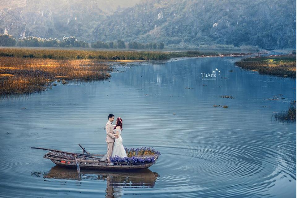 Ảnh cưới non nước hữu tình