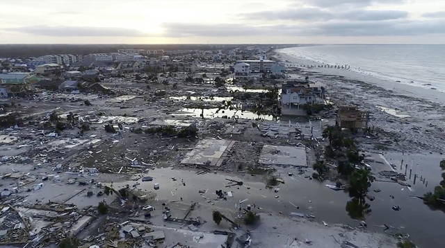 """Apocalyptic"" damage as Florida Panhandle devastated by Hurricane Michael"