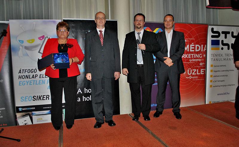 Év Honlapja verseny különdíj - SEO-siker díj 2013