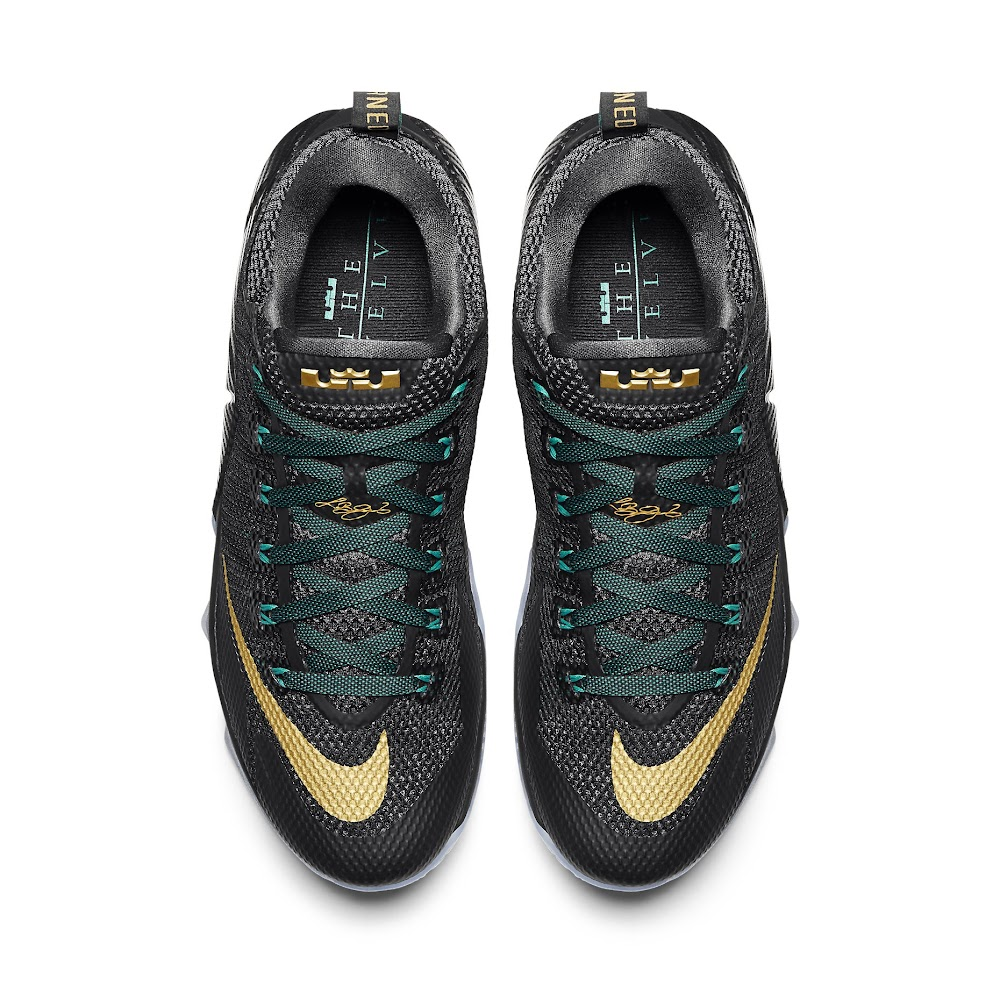c7052e71ae1 Release Reminder  Nike LeBron 12 Low SVSM   Carbon