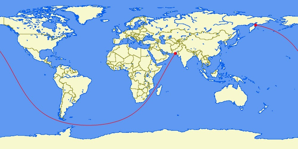 The Longest Straight Line Land And Sea Route Straight-line-sea6?imgmax=1600