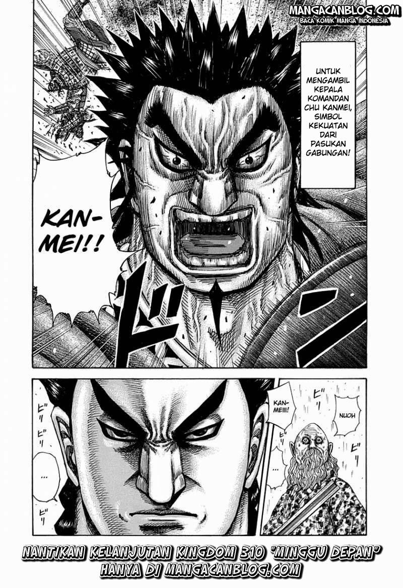 Baca Manga Kingdom Chapter 309 Komik Station