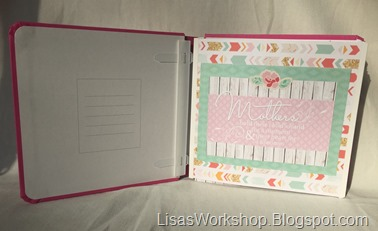 Hello Baby products -Creative Memories Mother's Day Blog Hop on Lisa's Workshop