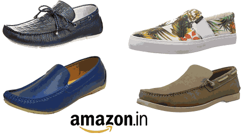 Amazon Loot - Flat 60% Off On Men's Footwear Of 3 Items Or More