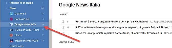 google-news-feedly
