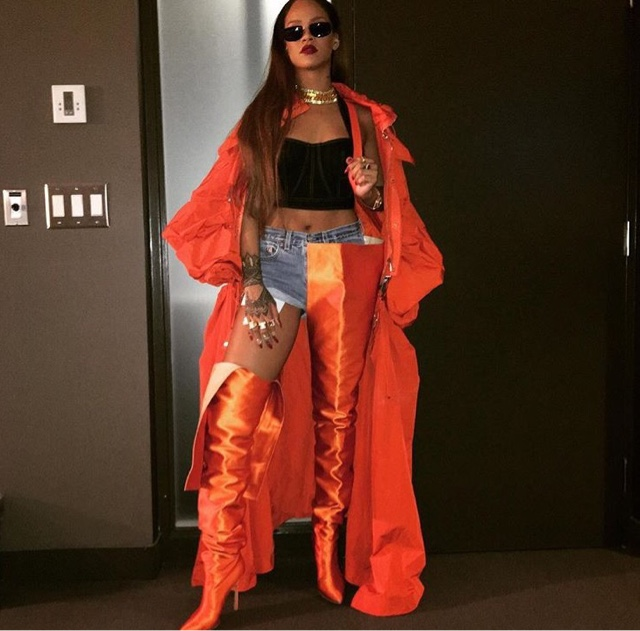 Rihanna in Feng Chen Wang