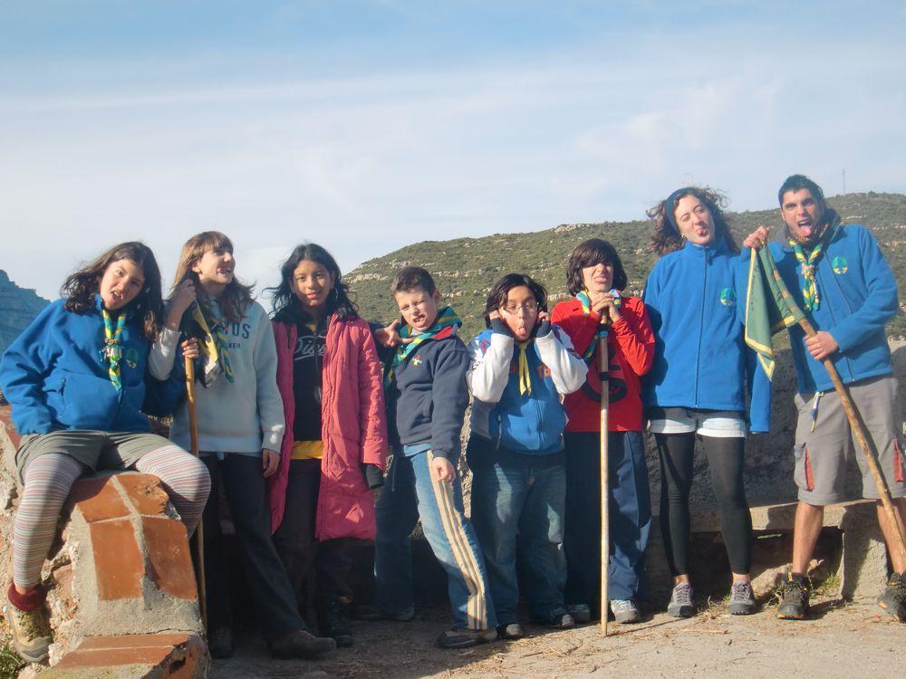 Raiers Sortida Sant Salvador de les Espases 2010 - CIMG0394.JPG