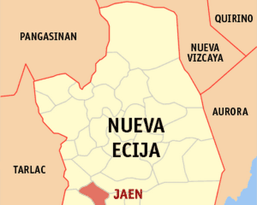 map of nueva ecija