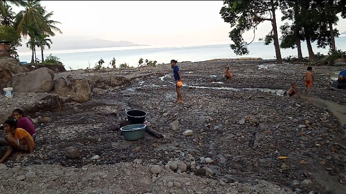 Pasca Bencana Alam di Alor, Masyarakat Terdampak Mulai Krisis Air Bersih