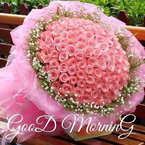 Good Morning Flower bucket