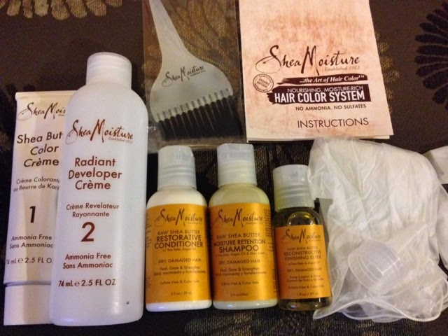 Sheamoisture Hair Color System Review Lip Drama