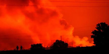 Έκρηξη του ηφαιστείου Νιραγκόνγκο στο Κονγκό - Εκκενώθηκε η πόλη Γκόμα