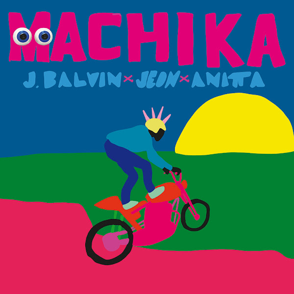 J Balvin, Jeon & Anitta - Machika - Single Cover