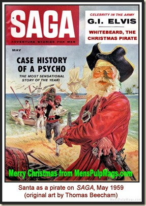SAGA, May 1959 - spoof cover MPM