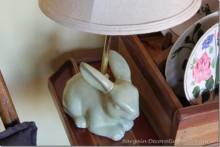 bunny lamp base