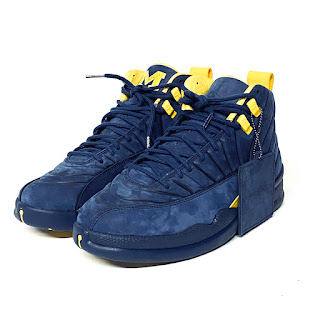 Air Jordan 12 Retro 'Michigan' SAMPLE Sz. 8