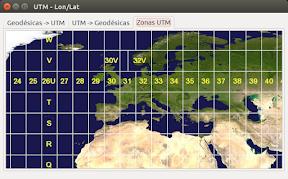 Convertir coordenadas geodesicas a utm - 3