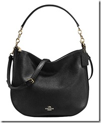 Coach Chelsea Zip Top Hobo Bag with Long Strap and Shoulder Strap