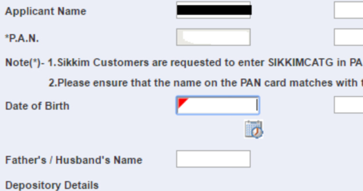 Cdsl ipo allotment status link