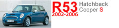 R53 S: 2002-2006 MINI Cooper S Hatchback