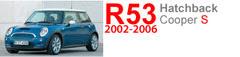 R53 S: 2002-2006 MINI Cooper S Hatchback