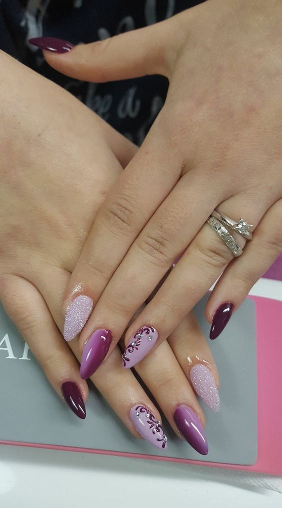 Easy Nail Designs For Long Nails 2018 10