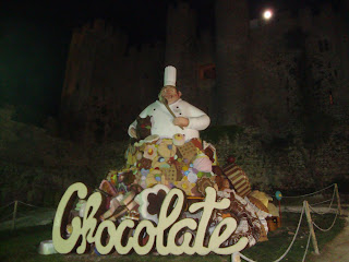 Festival internacional do Chocolate em Obidos - Fotos 2011
