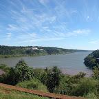 El Paraná y el Iguazú