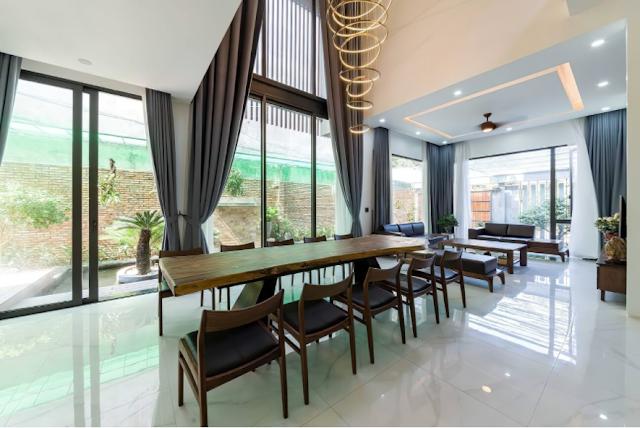 Khám phá biệt thự hiện đại đẹp 435m2 nằm trên sườn đồi tại Thanh Hóa