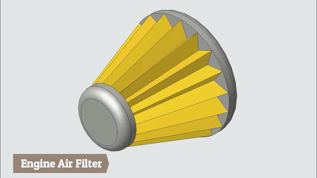 Engine Air Filter-Creo