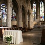 Collégiale Saint-Martin : choeur avec grand autel (19e s.)