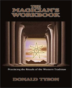 Cover of Donald Tyson's Book The Magican Workbook Practicing the Rituals Of The Western Tradition