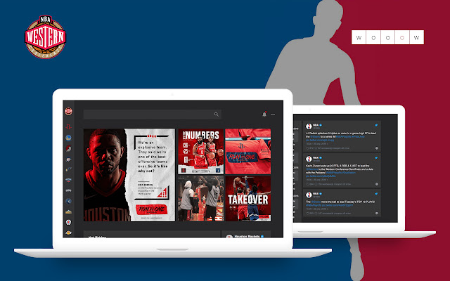 Wooow New Tab - NBA Western Conference
