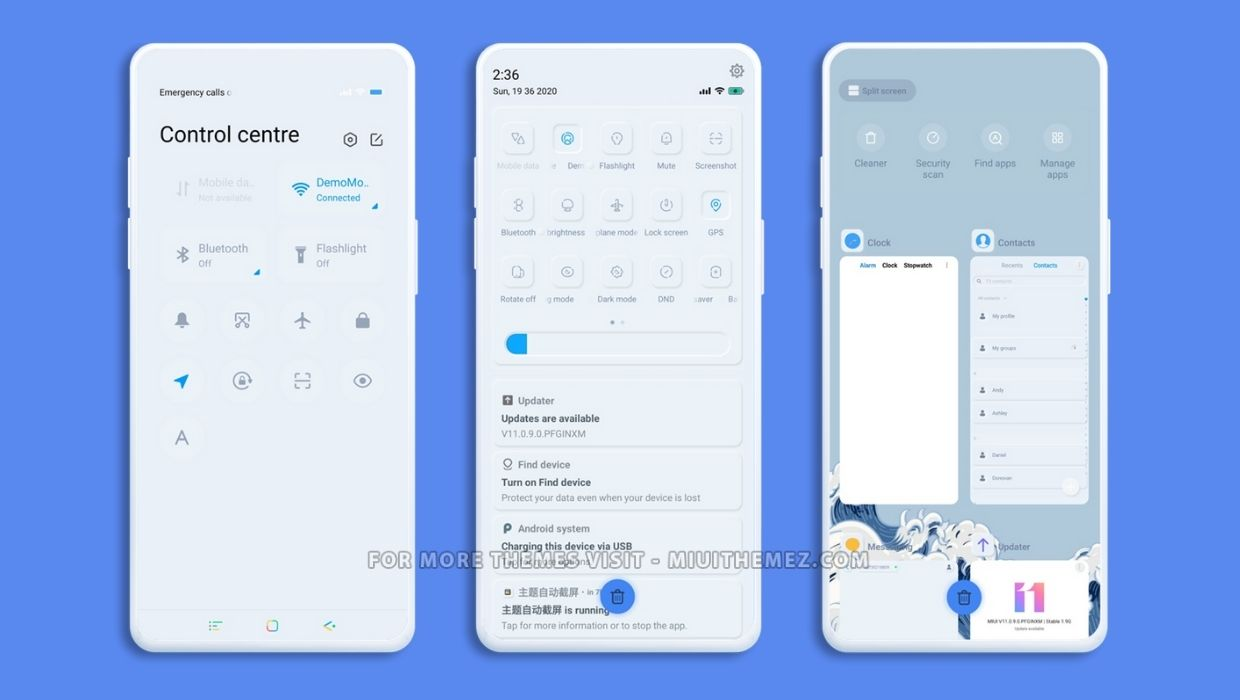 Inner And Emboss MIUI Theme