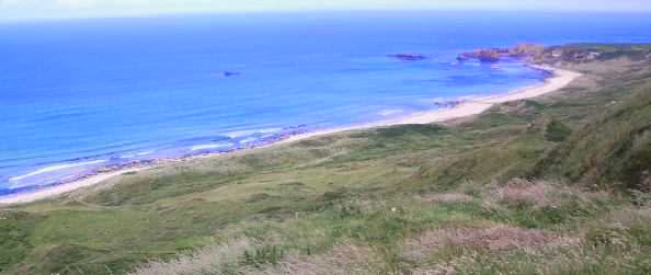 White Park Bay, Antrim Coast, Nordirland