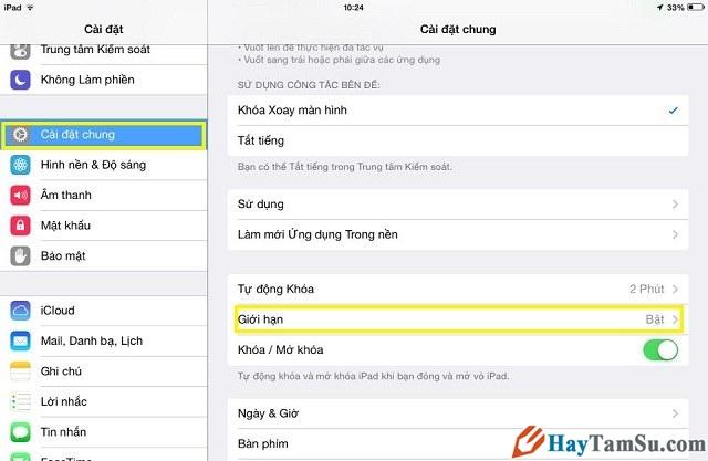 giới hạn thay đổi tài khoản iCloud trên iPhone