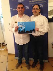 Chemi Lara y Alfonso Martínez, Campeones del Campeonato Mus Restaurante El Puente