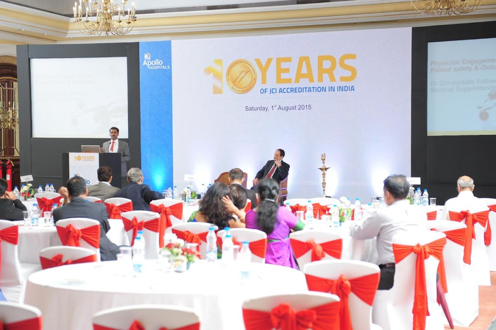 Apollo Hospitals - 10 Years of JCI Accreditation in India - 10