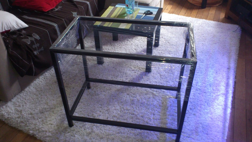 diy meuble aquarium. Black Bedroom Furniture Sets. Home Design Ideas
