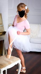 Girl Ballerina Fashion Photo Montage - náhled