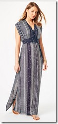 Phase Eight Geo Print Maxi Dress