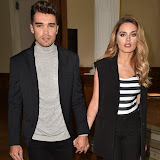 OIC - ENTSIMAGES.COM - Josh Cuthbert and Chloe Lloyd  at the  The LFW s/s 2016: Daks - catwalk show  in London 18th September 2015 Photo Mobis Photos/OIC 0203 174 1069