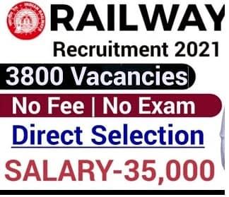 Railway recruitment 2021 vacancy    apply online for 432 apprentice job post